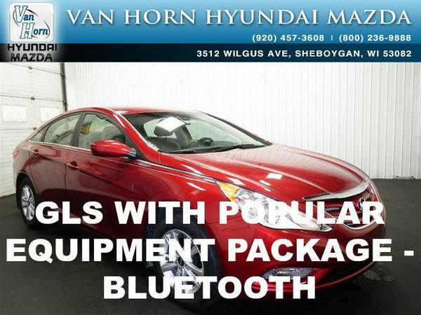 2013 *Hyundai Sonata* GLS - Sparkling Ruby Mica BAD CREDIT OK!