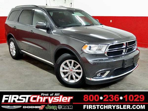 2015 *Dodge Durango* SXT-AWD - Dodge Granite Crystal Metallic...