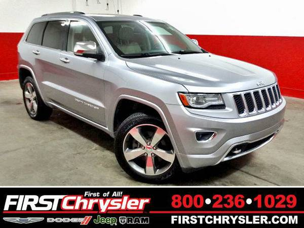 2014 *Jeep Grand Cherokee* Overland-4x4 - Jeep Billet Silver Metallic