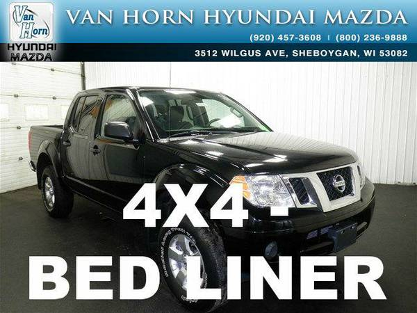 2012 *Nissan Frontier* SV 4X4 - Super Black BAD CREDIT OK!