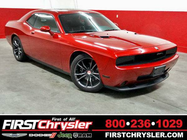 2010 *Dodge Challenger* R/T - Dodge Inferno Red Crystal Pearlcoat