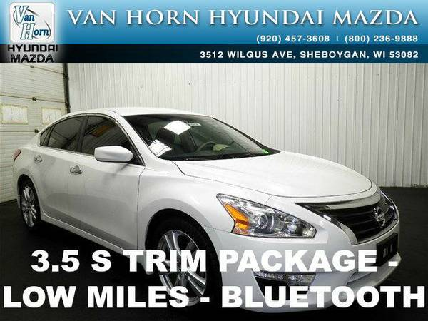 2013 *Nissan Altima* 3.5 S - Pearl White BAD CREDIT OK!