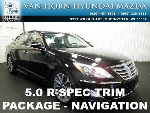2014 *Hyundai Genesis* 5.0 R-Spec - Caspian Black BAD CREDIT OK!