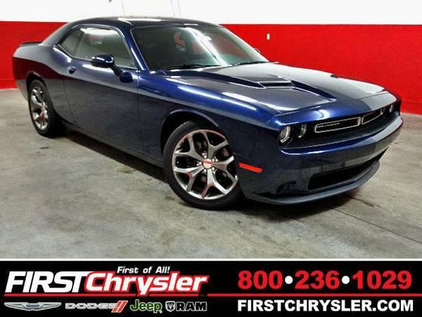 2015 *Dodge Challenger* SXT - Dodge Jazz Blue Pearlcoat
