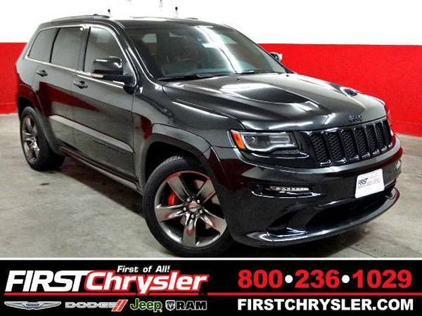 2015 *Jeep Grand Cherokee* SRT-4x4 - Jeep Brilliant Black Crystal...