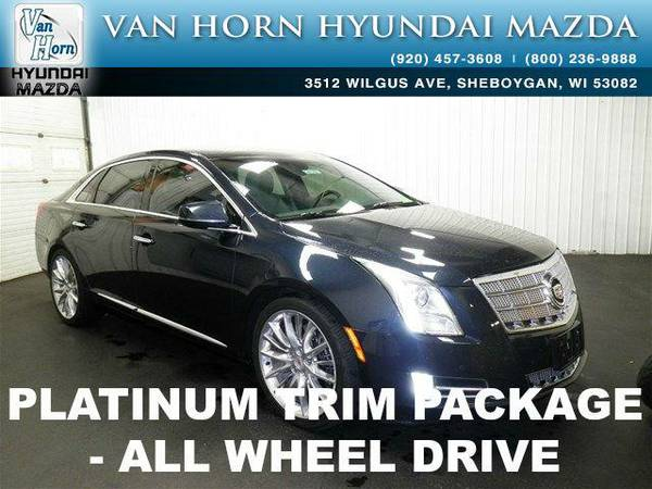 2013 *Cadillac XTS* Platinum AWD - Sapphire Blue Metallic BAD CREDIT...