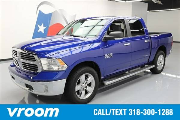 2014 RAM 1500 4x4 Big Horn 4dr Crew Cab 5.5 ft. SB Pickup Truck 7 DAY
