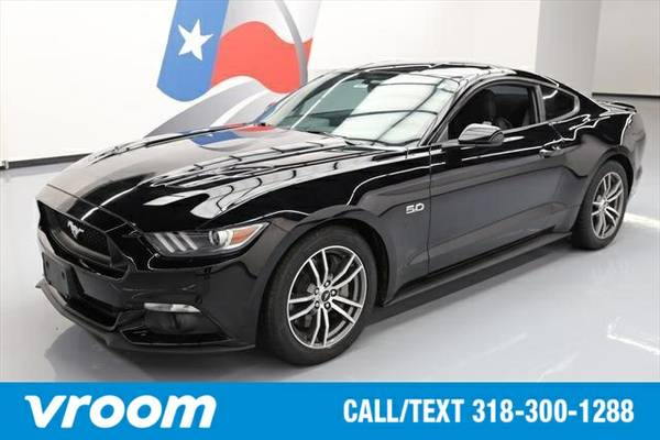 2016 Ford Mustang GT 2dr Fastback Coupe 7 DAY RETURN / 3000 CARS IN ST