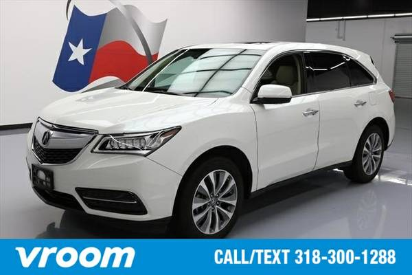 2014 Acura MDX 3.5L Technology Package 7 DAY RETURN / 3000 CARS IN STO
