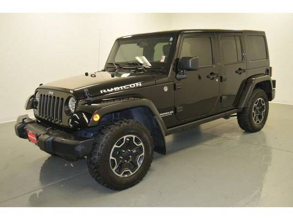 2015 *Jeep Wrangler Unlimited* 4WD 4dr Rubicon - (Black Clearcoat) 6