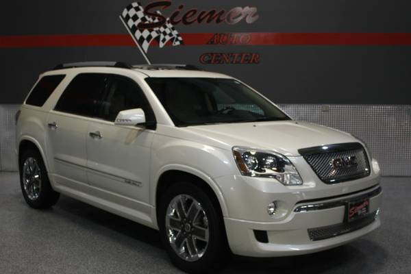 2012 GMC Acadia DENALI*WE FINANCE, RATES AS LOW AS 2.9%,