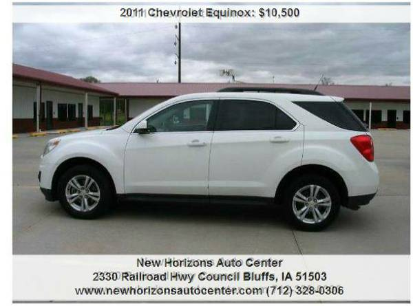 2011 Chevrolet Equinox LT AWD 4dr SUV,Auto,6 spd(CLEARANCE SALE)
