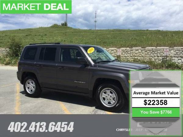 2016 Jeep Patriot Sport FWD SUV MKTE74