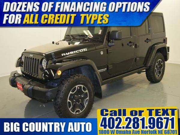 2015 Jeep Wrangler Unlimited 4WD 4dr Rubicon Sport Utility 4WD 4dr