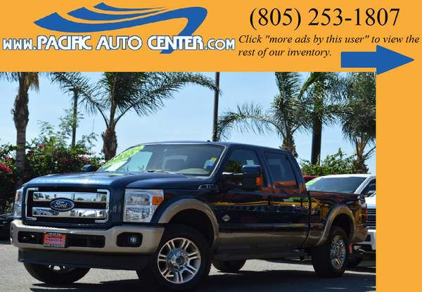 *2013 Ford F250 Diesel King Ranch Crew Cab 4x4 F250 Truck # 13809*