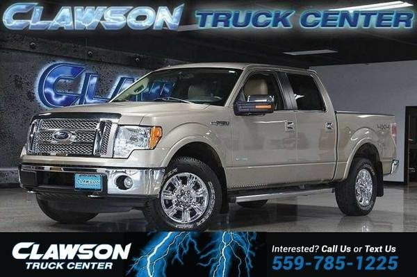 2012 Ford F-150 4WD SuperCrew 145 Lariat Truck F-150 Ford