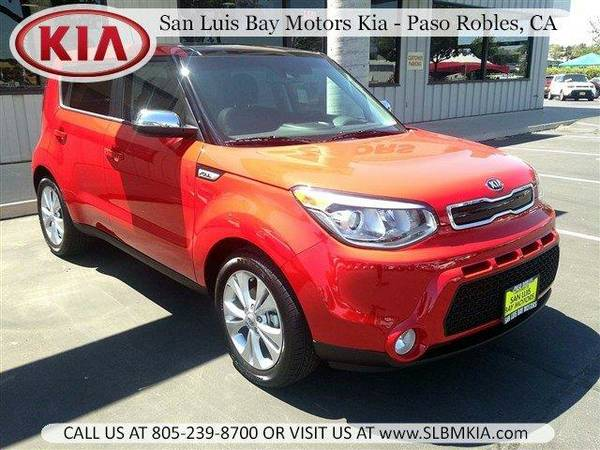 2016 *Kia Soul* - Inferno Red