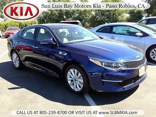 2016 *Kia Optima* EX - Horizon Blue