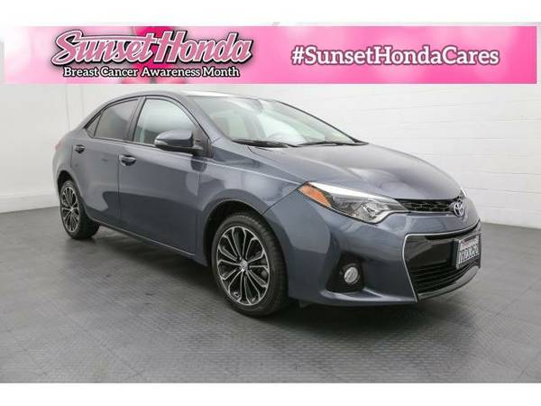 2014 *Toyota Corolla* S -Great Credit, Bad Credit, No Problem!