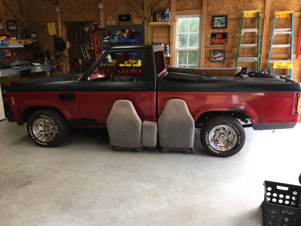 1987 V8 Ranger Reg Cab Short Bed Project