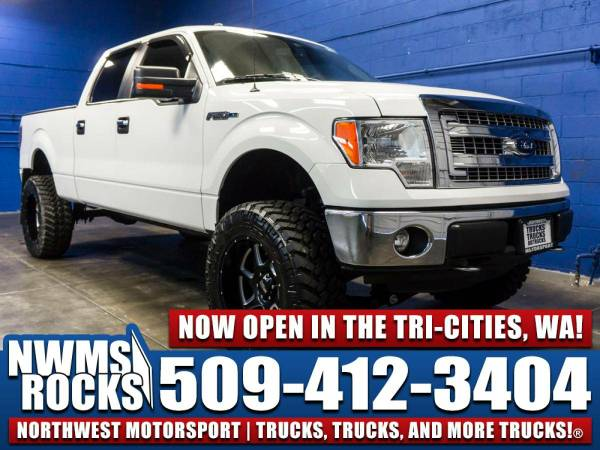 Lifted 2014 *Ford F150* XLT 4x4 - Trailer Brakes! 2014 Ford F-150 XLT