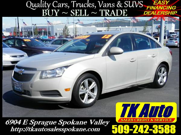 2012 Chevrolet Cruze LT 4103=★= 81K Low Miles EZ Financing!