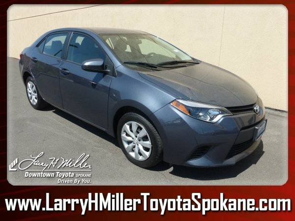 2014 Toyota Corolla LE Blue Buy today, Drive away