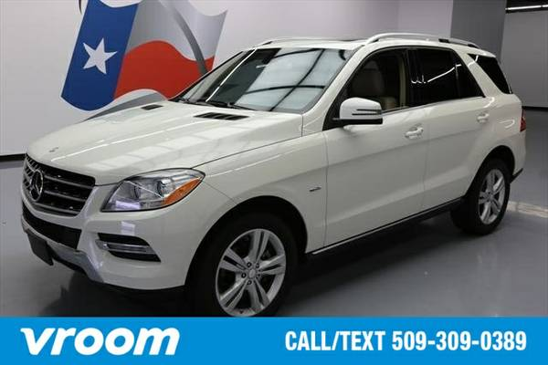 2012 Mercedes-Benz M-Class ML350 BlueTEC® 4MATIC® 7 DAY...