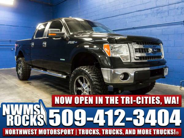 Lifted 2013 *Ford F150* XLT 4x4 - 2013 Ford F-150 XLT 4x4 Truck w/ Rea