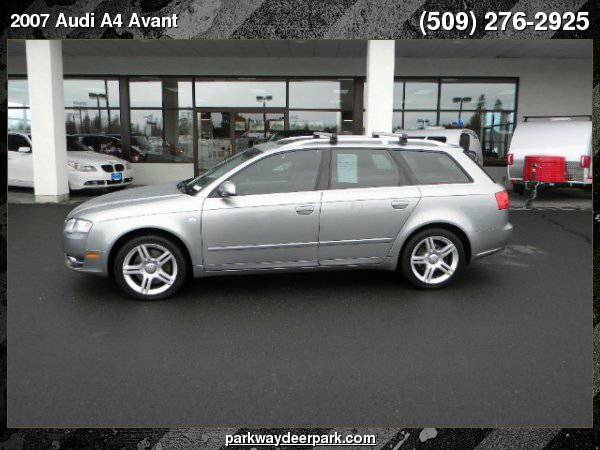 2007 Audi A4 Avant 2.0 T quattro with Tiptronic