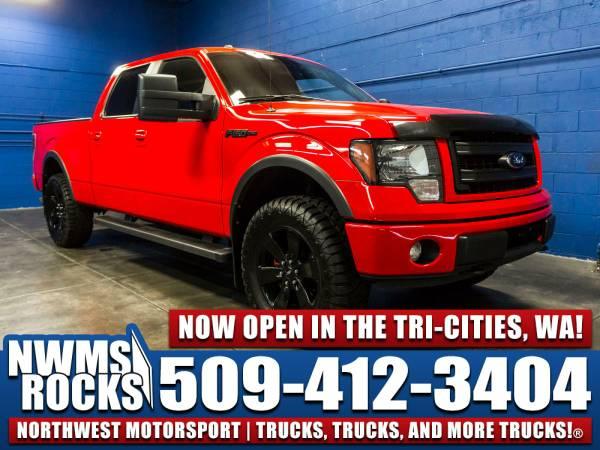 2014 *Ford F150* FX4 4x4 - 2014 Ford F-150 FX4 4x4 Truck w/ Trailer Br