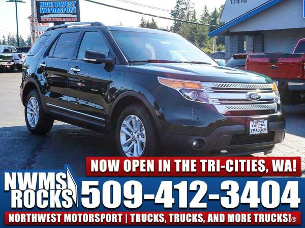 2013 *Ford Explorer* XLT 4x4 - 3rd Row Seats! 2013 Ford Explorer XLT 4