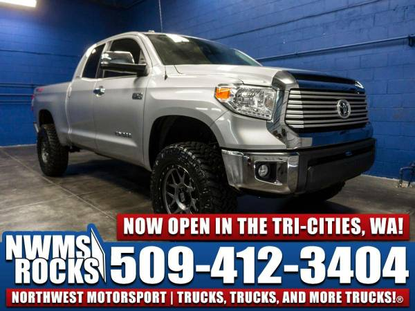 Lifted 2016 *Toyota Tundra* Limited 4x4 -