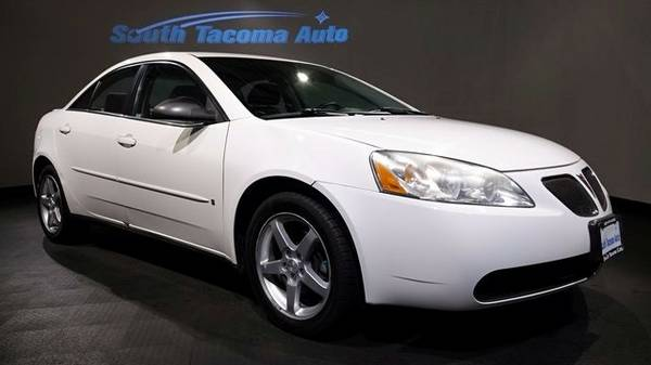 2007 Pontiac G6 Base Sedan G6 Pontiac