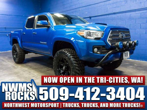 Lifted 2016 *Toyota Tacoma* TRD Sport 4x4 - OFFROAD TIRES! 2016 Toyota