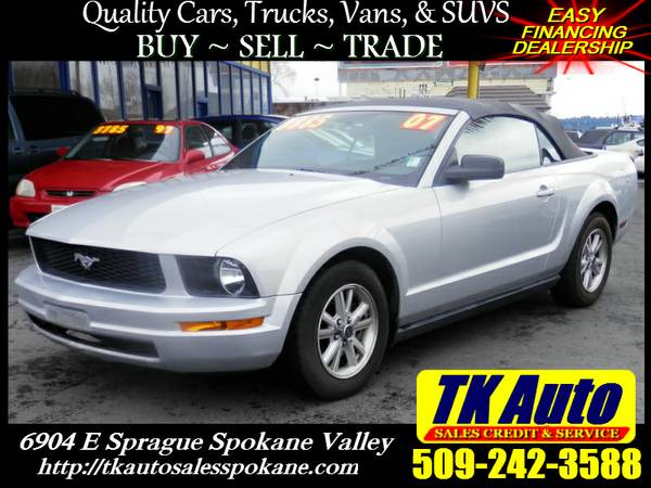 2007 Ford Mustang Convertible #3646 ★ 99% Credit Approval!
