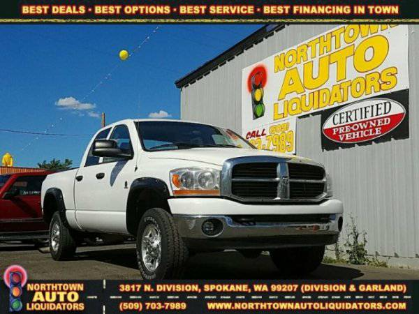 2006 Dodge Ram Pickup ZERO DOWN! 125% KBB TRADE IN VALUE