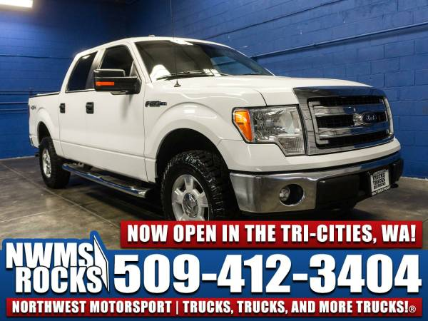 2013 *Ford F150* XLT 4x4 - 2013 Ford F-150 XLT 4x4 Truck w/ Tonneau Co