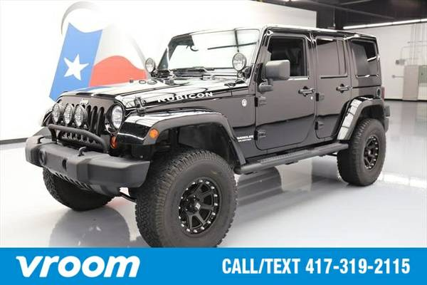 2012 Jeep Wrangler Unlimited Rubicon 7 DAY RETURN / 3000 CARS IN STOCK