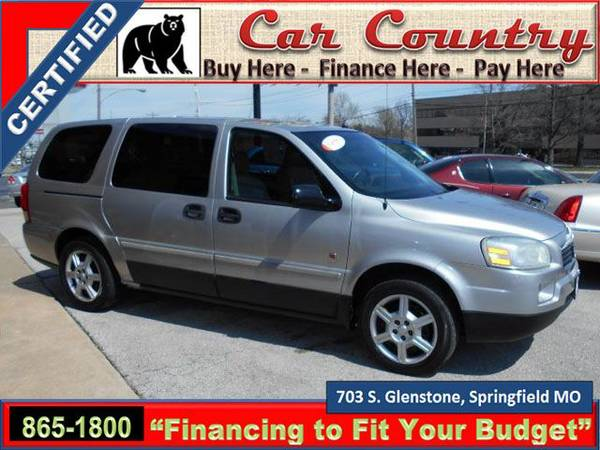 05 SATURN RELAY/121,156 MILES/ROOMY/DVD PLAYER/WE FINANCE