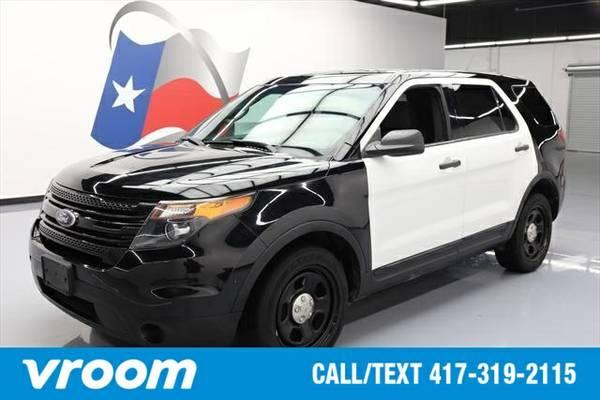 2013 Ford Utility Police Interceptor 7 DAY RETURN / 3000 CARS IN STOCK