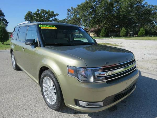 2013 Ford Flex AWD*3RD ROW*LEATHER*POWER EVERYTHING*WARRANTY INCLUDED!