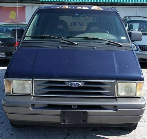 1996 Ford Aerostar XLT ~ Blue