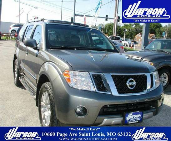2008 NISSAN PATHFINDER LE V8 4X4 *LOADED* 3RD ROW 1 OWNER 86K MILES
