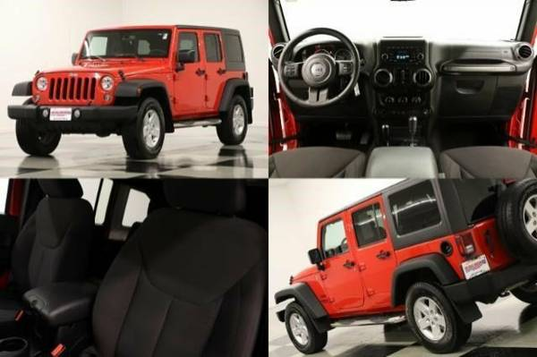 *WRANGLER UNLIMITED 4WD* 2015 Jeep *LIKE NEW - AUX INPUT*
