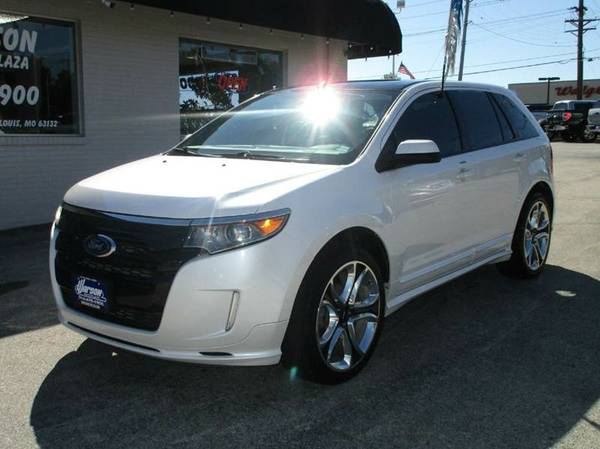 2013 Ford Edge Sport AWD - FULLY LOADED -RARE PLATINUM WHITE! MUST SEE