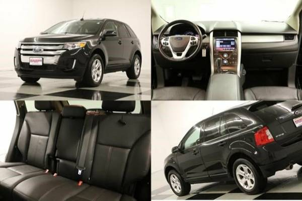 EDGE SEL w CAMERA* 2014 Ford *HEATED LEATHER -1 OWNER*