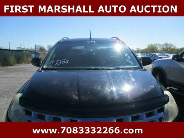 2004 Nissan Murano SE AWD 4dr SUV - First Marshall Auto Auction