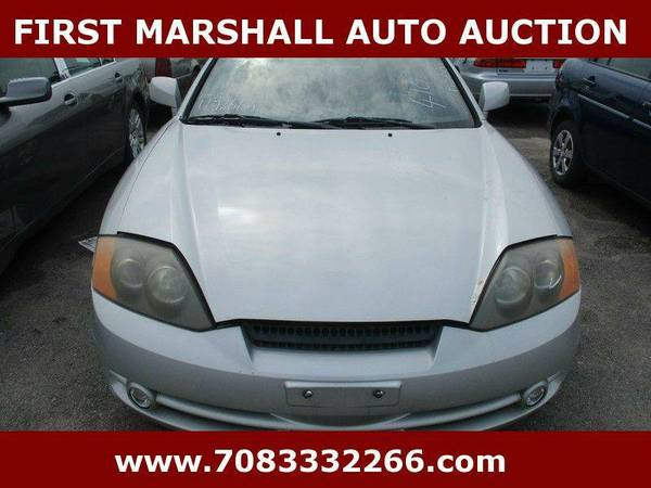 2003 Hyundai Tiburon GT - First Marshall Auto Auction