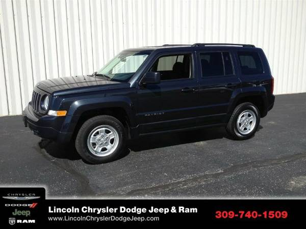2016 Jeep Patriot Sport SUV Patriot Jeep